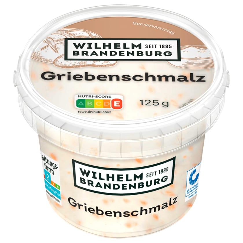 Wilhelm Brandenburg Hausmacher Griebenschmalz 125g