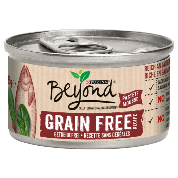 Beyond Grain Free Lachs & Spinat 85g