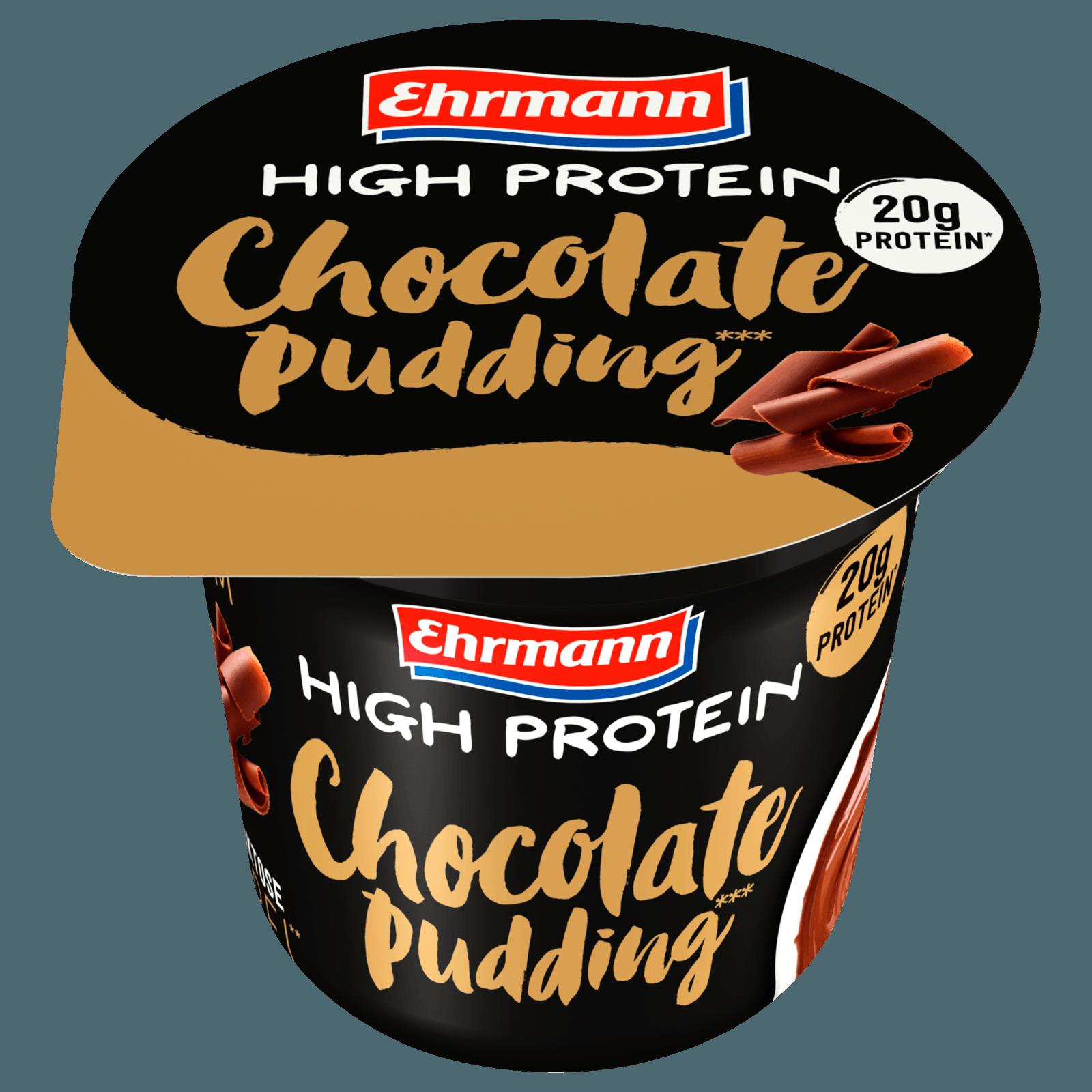 Ehrmann High Protein Pudding Schoko 200g Bei Rewe Online Bestellen