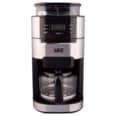 SEG Edelstahl Kaffeemaschine KM1025 mit integriertem Mahlwerk 900W