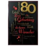 Vivess GLückwunschkarte 80. Geburtstag