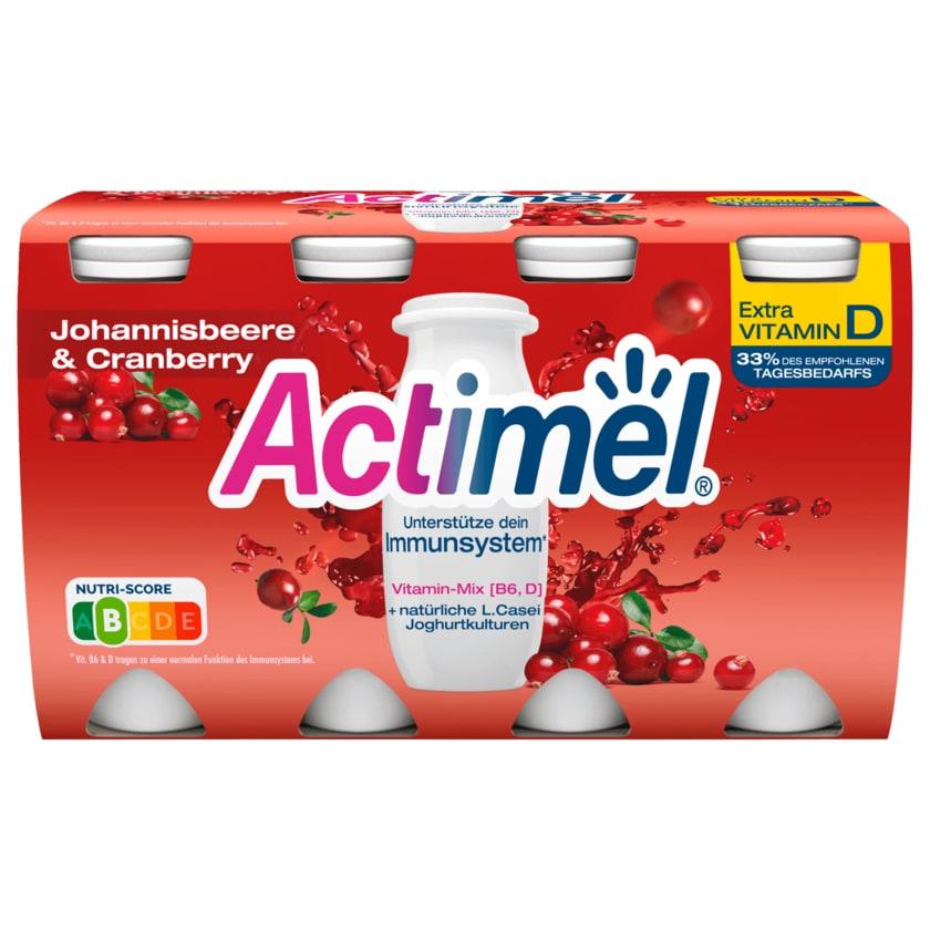 Danone Actimel Johannisbeere & Cranberry 8x100g