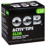 Ocb Active Tips Slim 50 Stück