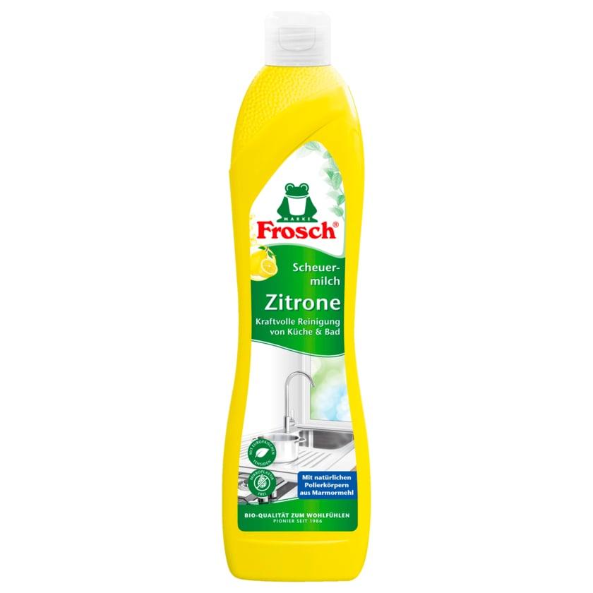 Frosch Zitronen-Scheuermilch 500ml