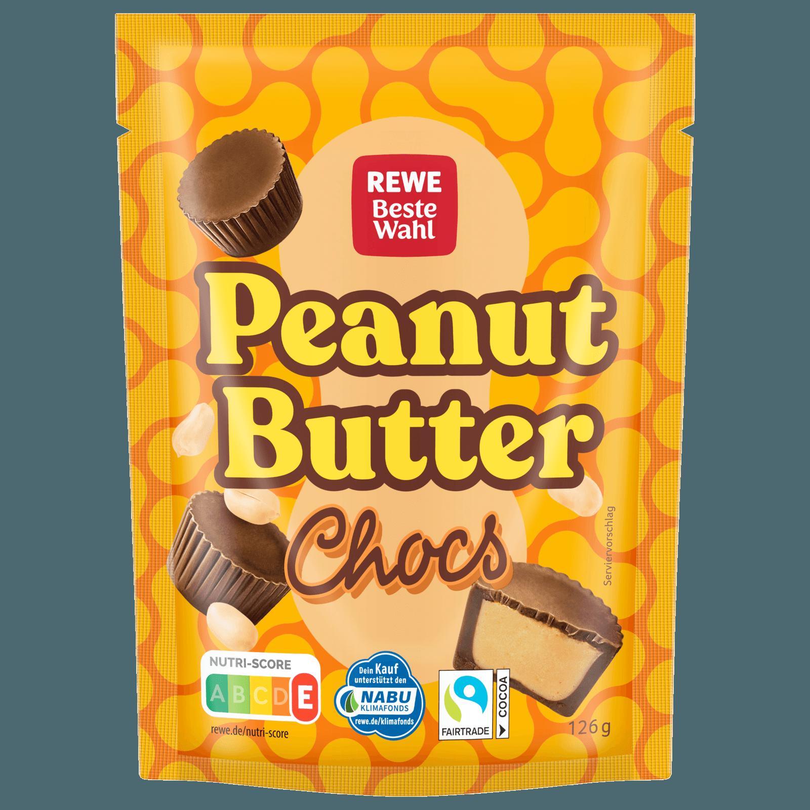 REWE Beste Wahl Peanut Butter Chocs 20g bei REWE online bestellen