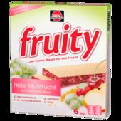 Schwartau Fruity Rote Früchte Cranberry-Kirsche 6x24g