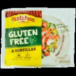 Old El Paso Glutenfree 6 Tortillas Super Soft 216g
