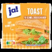 ja! Schmelzkäse Toast 250g