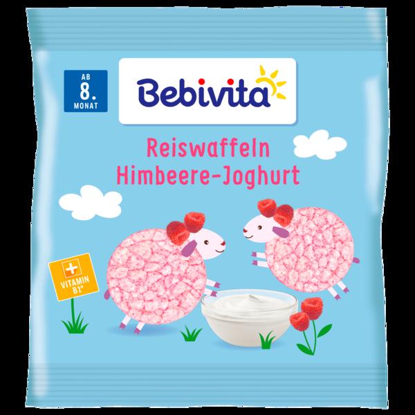 Bebivita Reiswaffeln Himbeere-Joghurt 30g