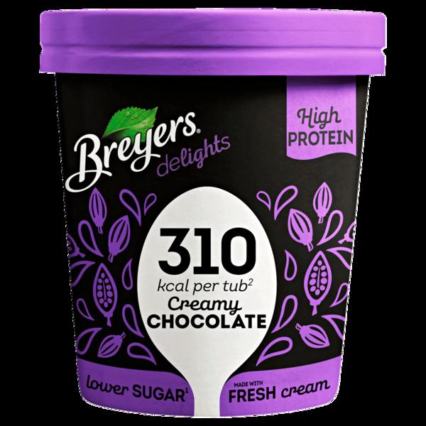 Breyers Delights Creamy Chocolate Eis 500 ml