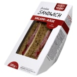 Ready to eat frisches Sandwich Salami-Käse 185g
