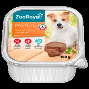Zooroyal Pastete Huhn und Leber 150g