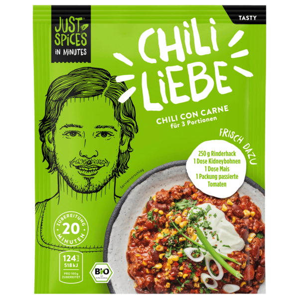 Just Spices In Minutes Tasty Chili con Carne 47g