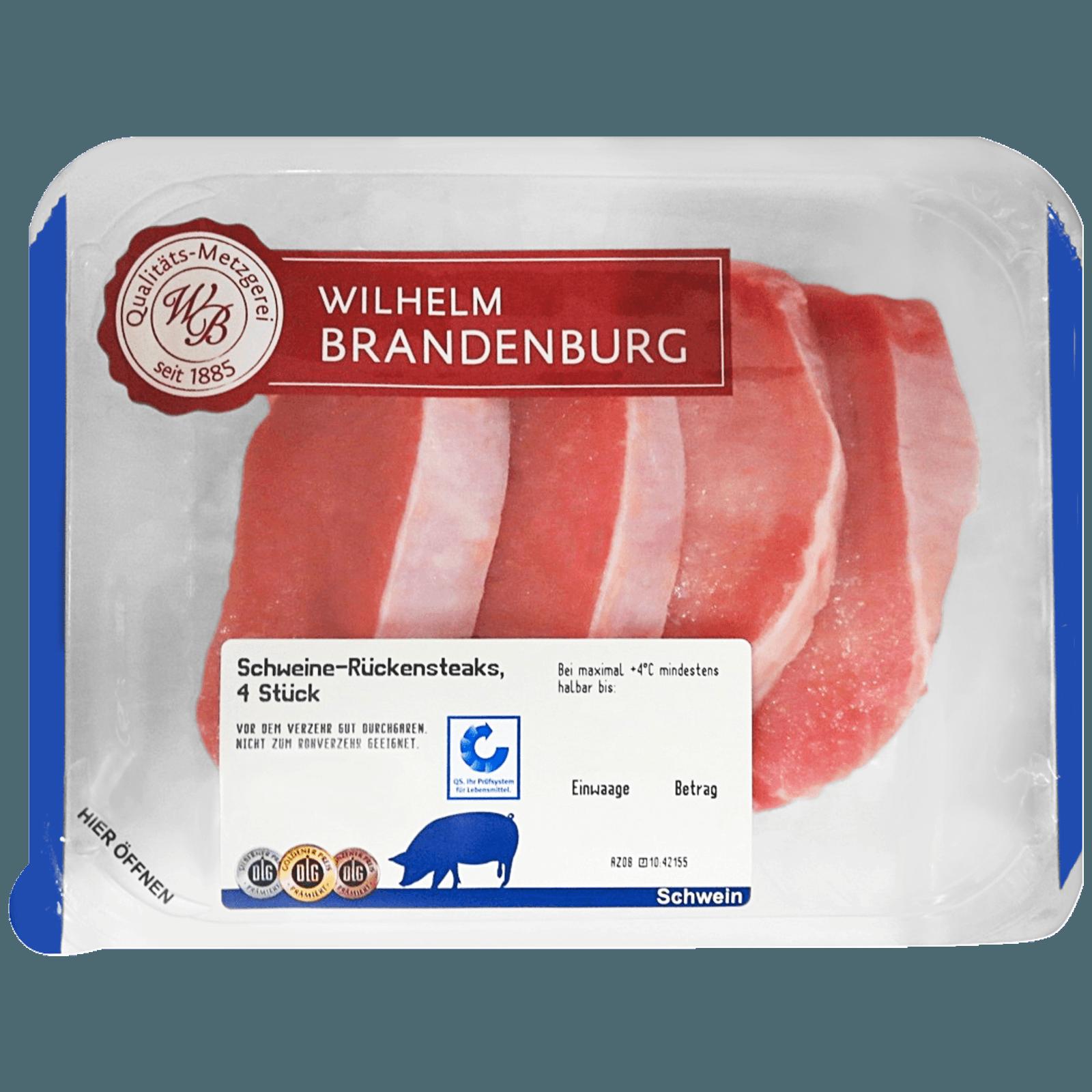 Wilhelm Brandenburg Schweine-Rückensteak ca. 500g
