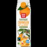 REWE Beste Wahl Fairtrade Orangensaft 1l