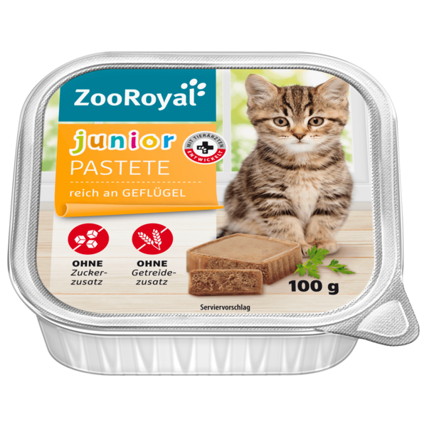 Zooroyal Junior Geflügel 100g