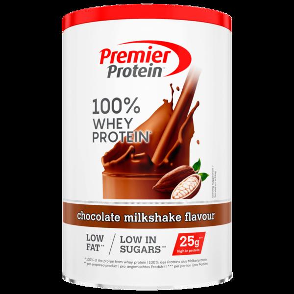 Premier Protein 100% Whey Protein chocolate milkshake flavour 315g