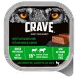 Crave Adult Pastete mit Lamm & Rind 300g