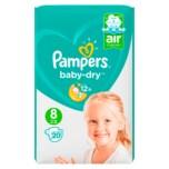 Pampers Baby Dry Gr.8 +17kg 20 Stück