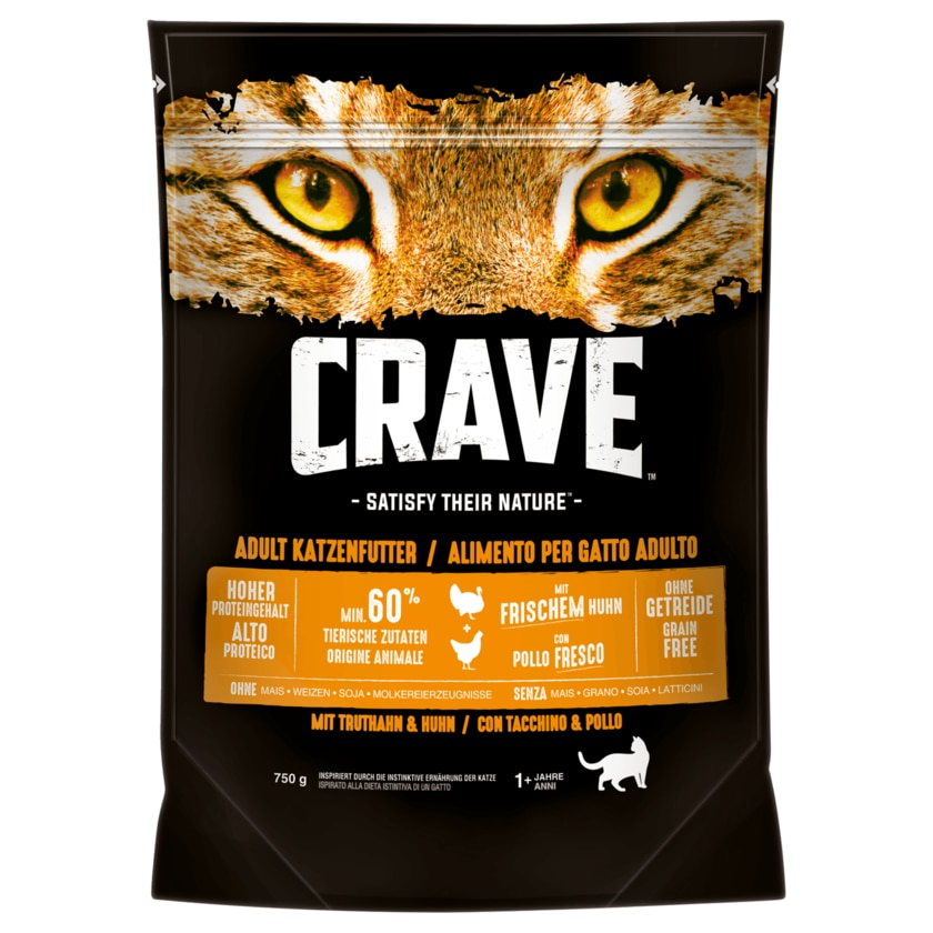 Crave Truthahn & Huhn Adult 750g