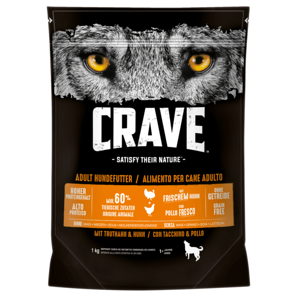 Crave Truthahn & Huhn Adult 1000g
