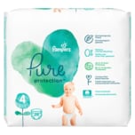 Pampers Pure Protection Windeln Gr.4 Maxi 9-14 kg Tragepack 19ST
