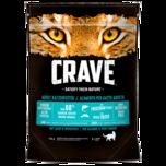 Crave Katzenfutter Lachs & Weißfisch 750g