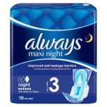 Always maxi night 10 Stück