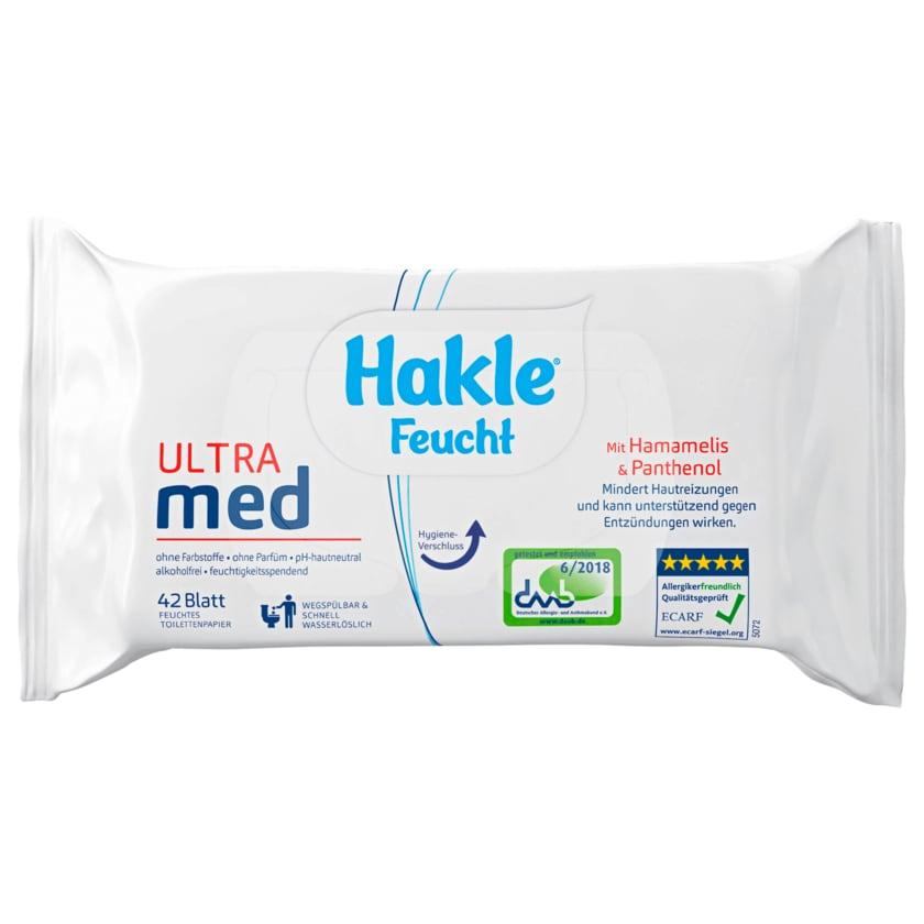 Hakle Feucht Ultra Med 42 Stück