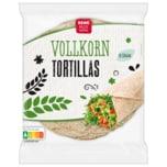 REWE Beste Wahl Vollkorn Tortillas 432g, 6 Stück