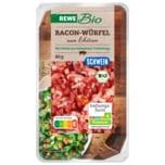 REWE Bio Bacon-Würfel Schwein 80g