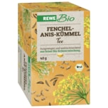 REWE Bio Fenchel-Anis-Kümmel Tee 40g