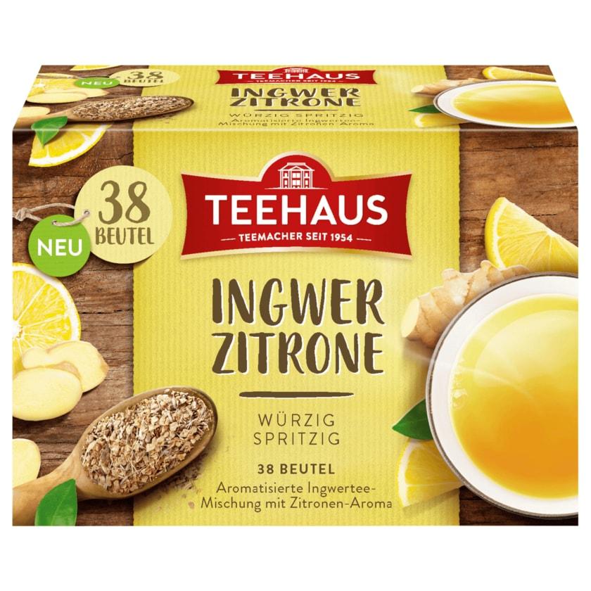 Teehaus Ingwer Zitrone 57g, 38 Beutel