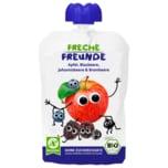 Erdbär Freche Freunde Bio Apfel, Blaubeere, Johannisbeere & Brombeere 100g