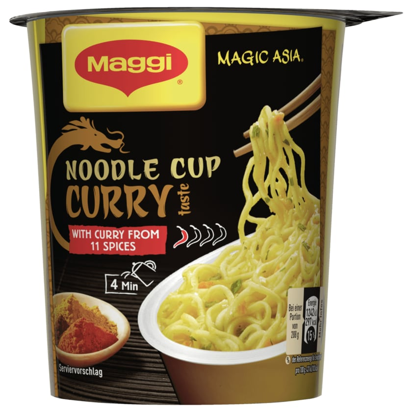 Maggi Magic Asia Noodle Cup Curry 63g