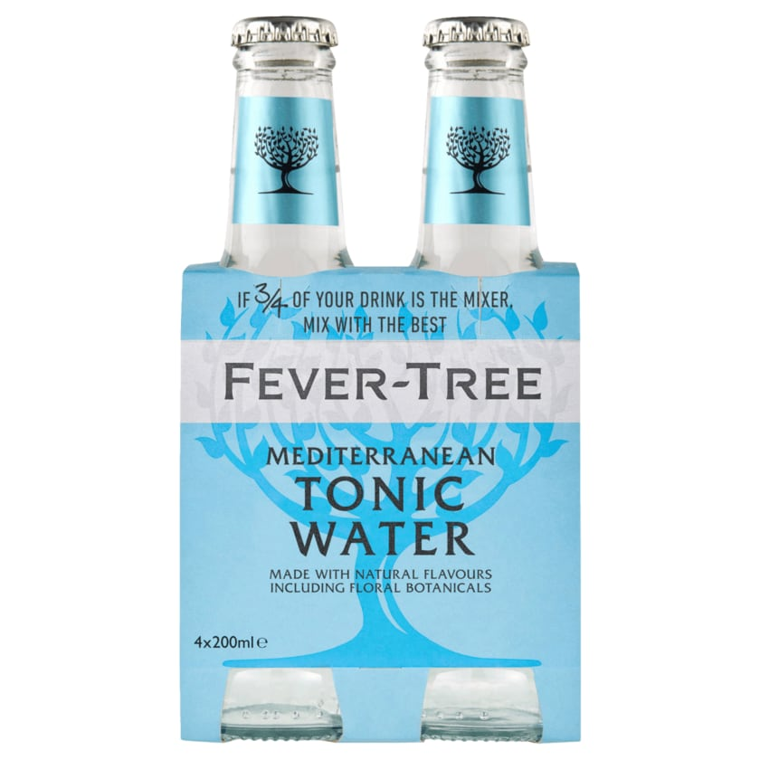 Fever-Tree Mediterranean Tonic Water 4x0,2l