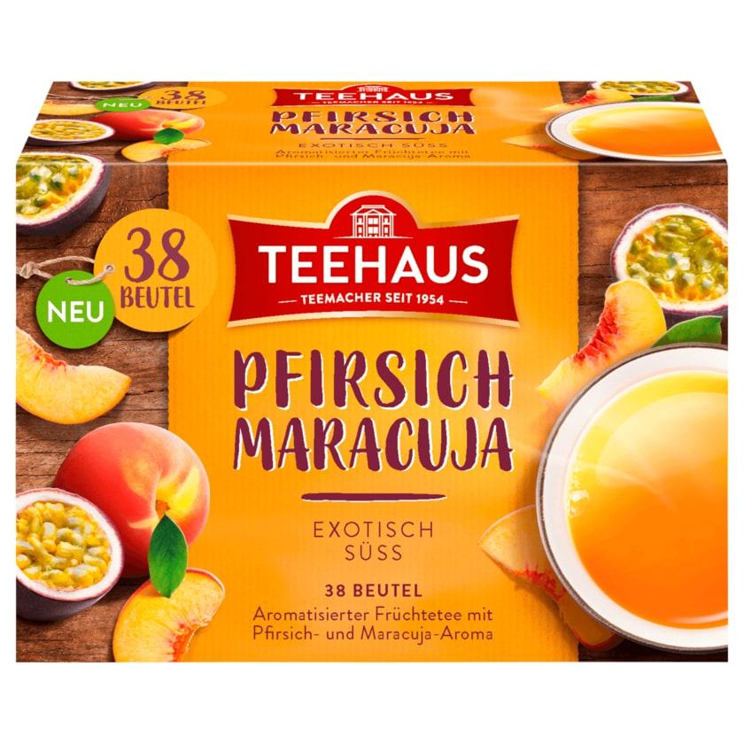 Teehaus Pfirsich Maracuja 76g, 38 Beutel