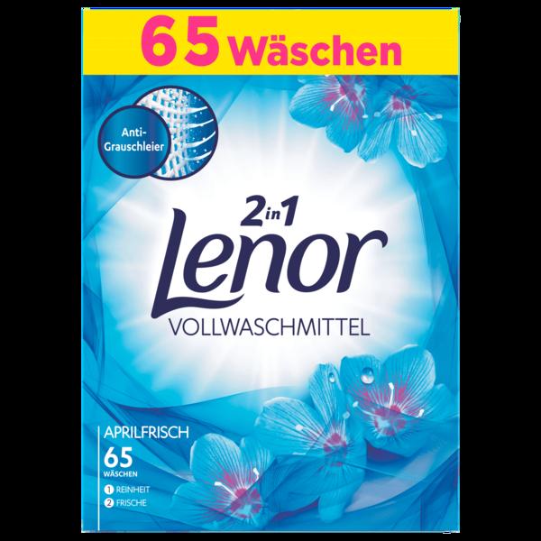Lenor Vollwaschmittel Pulver Aprilfrisch 4,225kg, 65WL