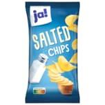 ja! Kartoffelchips mit Salz 200g