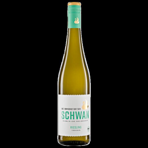 Weinmanufaktur Schwan Weißwein Bio Riesling trocken 0,75l