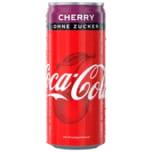 Coca Cola Zero Cherry 0,33l
