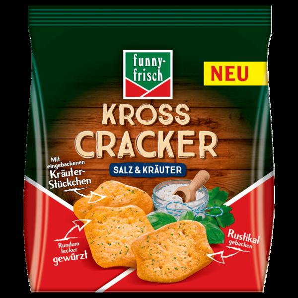 Funny-frisch Kross Cracker Salz & Kräuter 100g