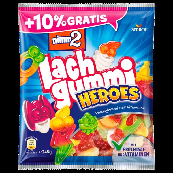 Storck Nimm 2 Lachgummis Heroes +10% gratis 248g