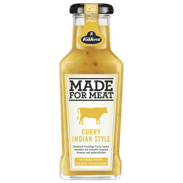 Kühne Made for meat Indian Curry 235ml
