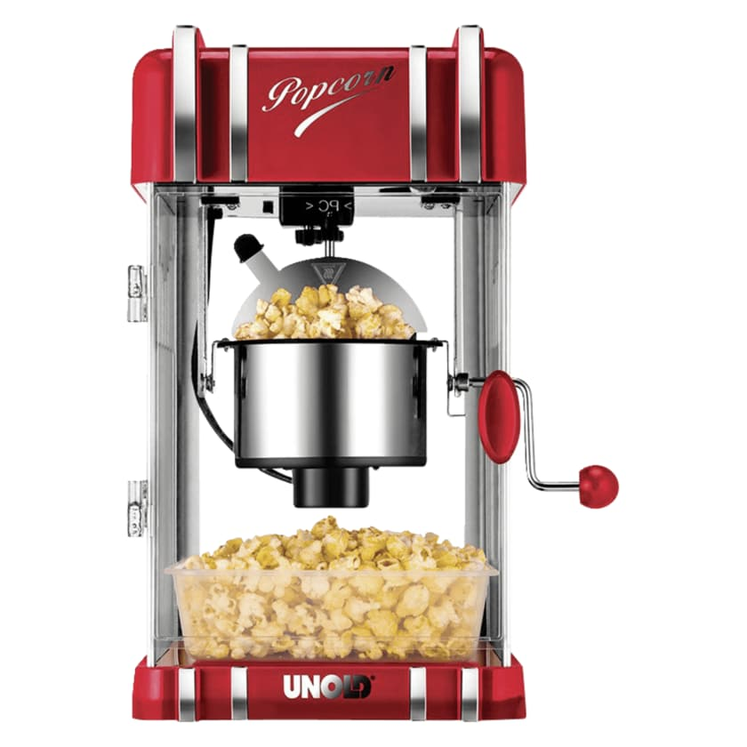 Unold Popcornmaker Retro Rot 300W