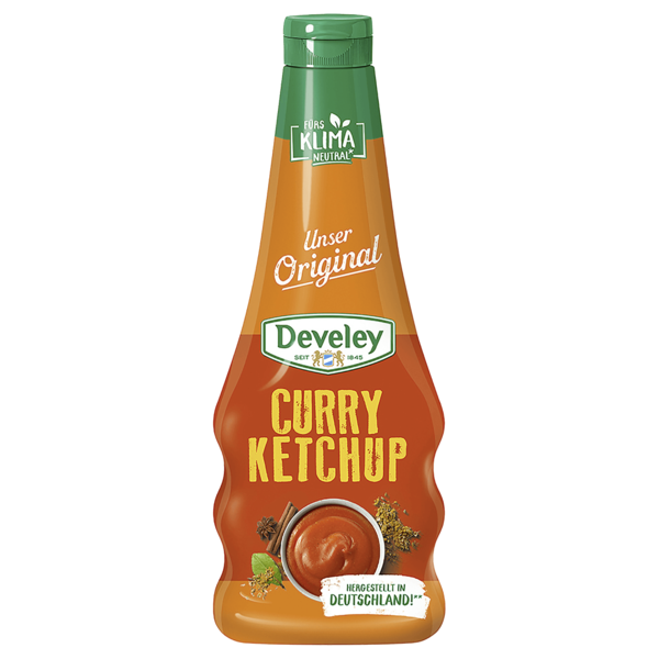 Develey Our Original Curry Ketchup 500ml