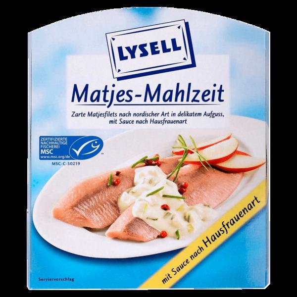 Lysell Matjes-Mahlzeit 200g