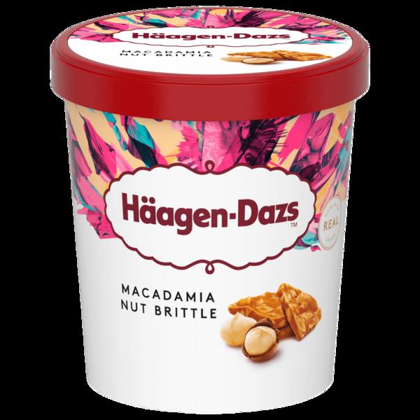 Häagen-Dazs Macadamia Nut Brittle Eis 460ml