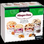 Häagen-Dazs Favorite Selection Eis 4x95ml