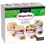 Häagen-Dazs Favorite Selection Eis 4x95ml